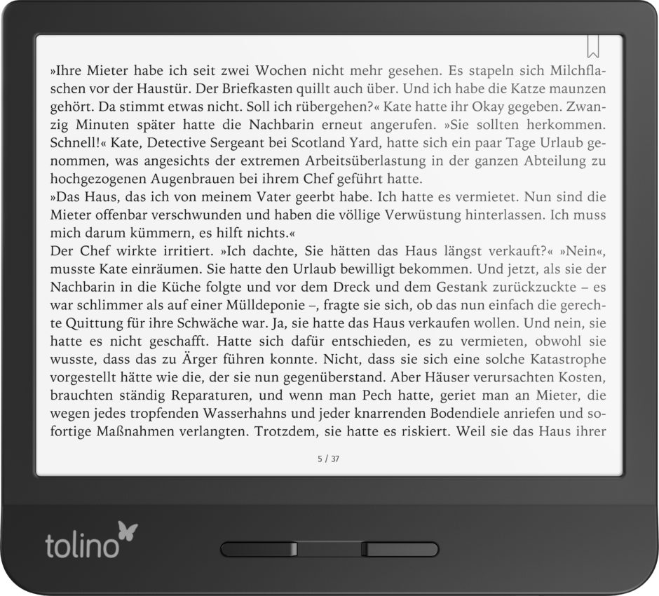 tolino vision 5: Quer
